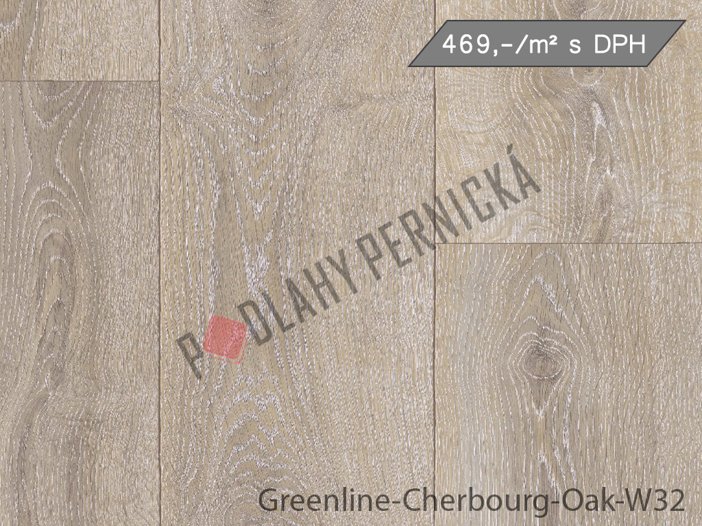 Greenline-Cherbourg-Oak-W32