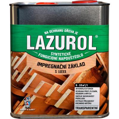lazurol impregnacni zaklad 2,5l