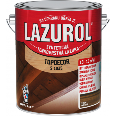 lazurol topdecor s1035 wenge 2,5l