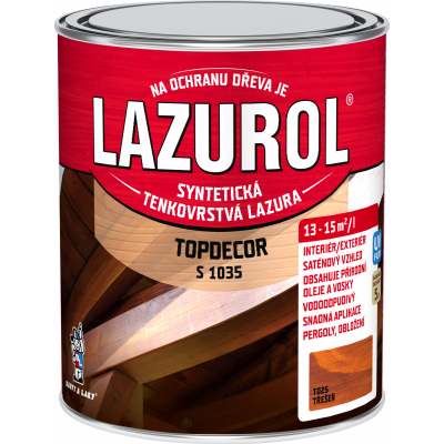 lazurol topdecor s1035 tresen 0,75l
