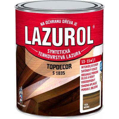 lazurol topdecor s1035 wenge 0,75l