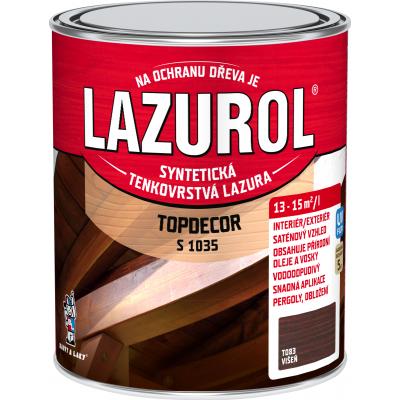 lazurol topdecor s1035 visen 0,75l