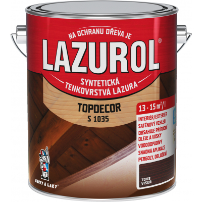 lazurol topdecor s1035 visen 2,5l