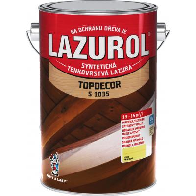 lazurol topdecor s1035 prirodni 4,5l