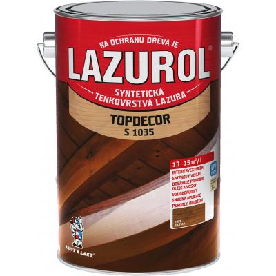 lazurol topdecor s1035 kastan 4,5l