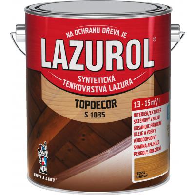 lazurol topdecor s1035 orech 2,5l