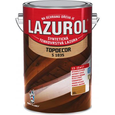 lazurol topdecor s1035 orech 4,5l