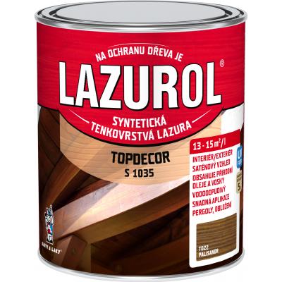 lazurol topdecor s1035 palisandr 0,75l