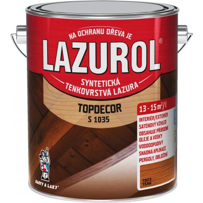lazurol topdecor s1035 teak 2,5l