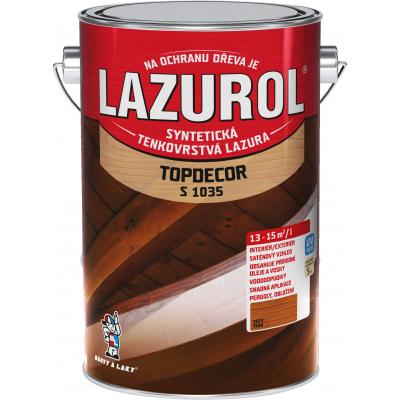lazurol topdecor s1035 teak 4,5l