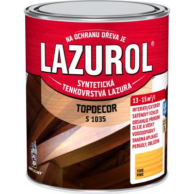 lazurol topdecor s1035 pinie 0,75l