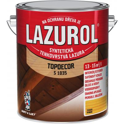 lazurol topdecor s1035 pinie 2,5l