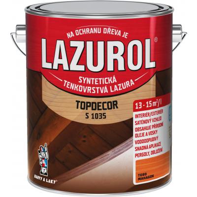 lazurol topdecor s1035 mahagon 2,5l