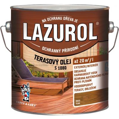 lazurol terasovy olej teak 2,5l