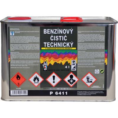 p6411 benzinovy cistic 4l