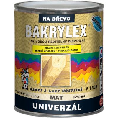 bakrylex univerzal v1302 lak mat 600g