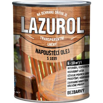 lazurol napousteci olej 0,7l