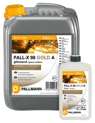 pallmann pall-x 98 gold lesk