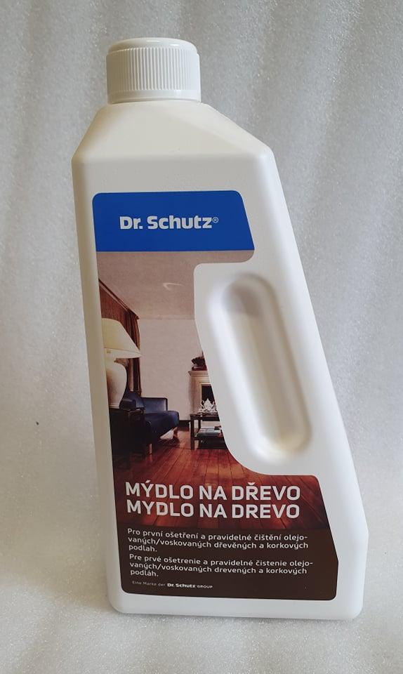 dr.schutz mýdlo na dřevo 750ml