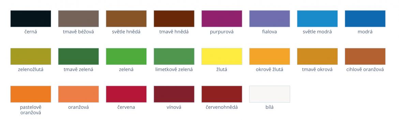 het hetcolor odstiny