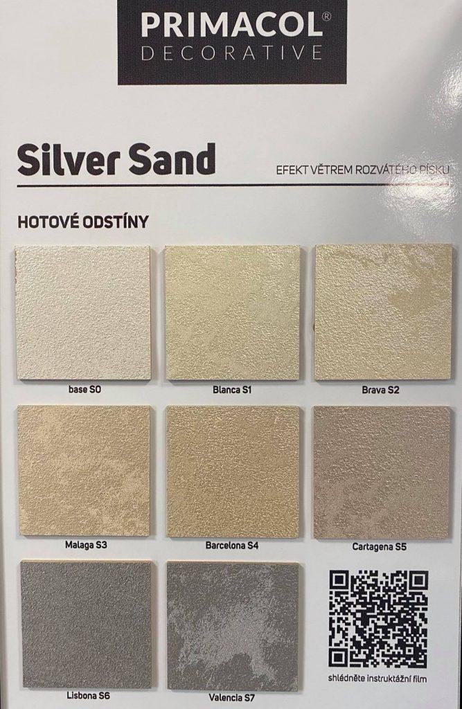 primacol silver sand vzornik