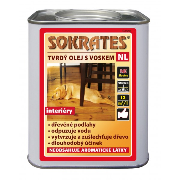 sokrates tvrdy olej s voskem
